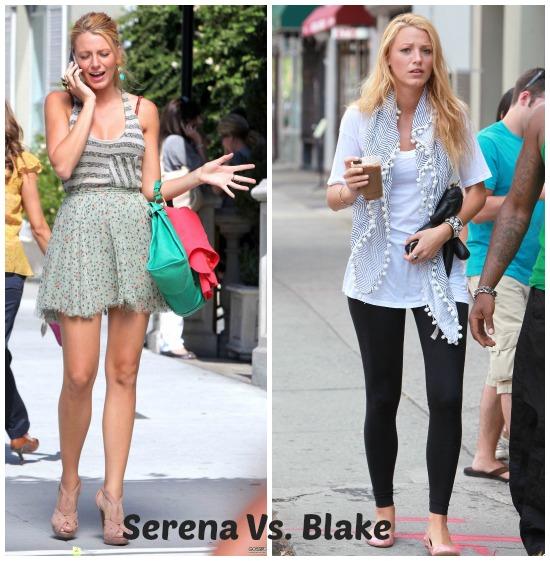 Serena van der Woodsen (Personaje) o Blake Lively (actriz): Blake es diosa y no por nada la eligió Leo Di Caprio, sin embargo, durante las 6 temporadas de Gossip me enamoré -en cada capítulo- de los outfits que usó Serena.