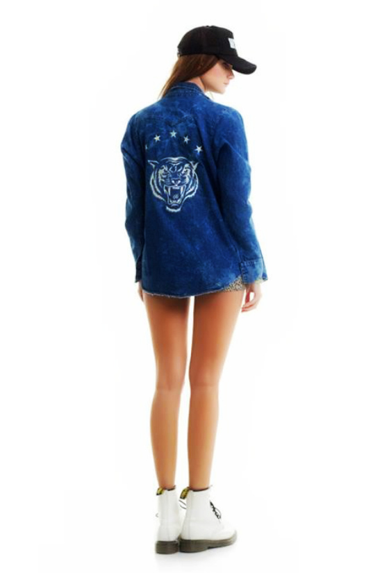 Camisa Thunder Cat + Short Riden Print