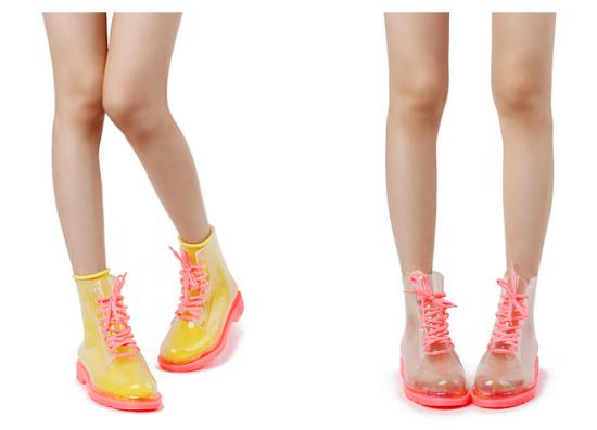 Las neon pink son las que más me gustaron, podés usarlas incluso con medias floreadas para lograr un estilo más girly.