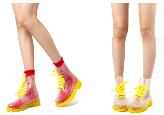 Amarillas para las más coloridas, combinadas con rojo son un show.