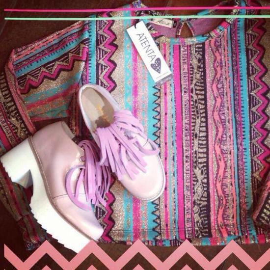 Botitas Finge Pink