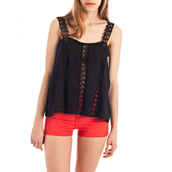 Blusa Negra Julien Marie disponible en Dafiti