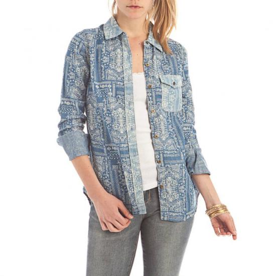 Camisa Azul Inedita Jeans disponible en Dafiti