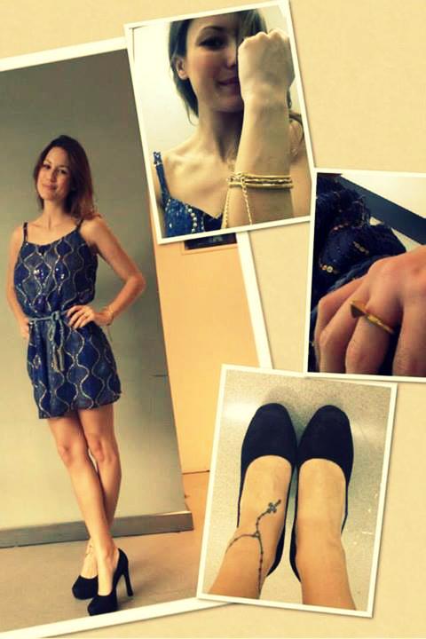 Otro look Cambac de Luli.¡Este vestido no puede más!