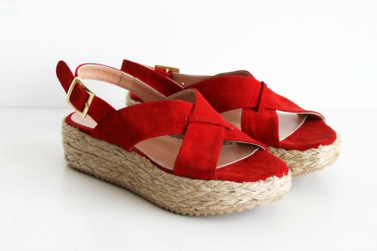 Bien veraniedos los Moreira rojo, aunque tenés más colores para elegir.
