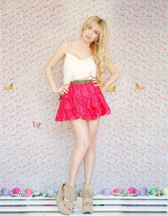 Blusa Love, Falda Fairy, Cinturon Cute y Zapatos Fringe