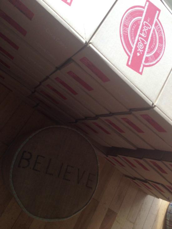 """Las cajas son todo y dicen mucho: """"Made with love"""""""