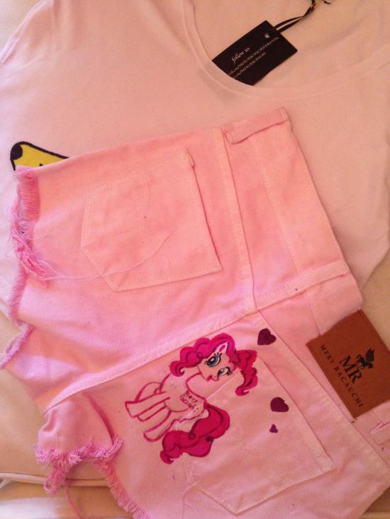 ♥♥ Remera Banannas y Short My Little Pony Pink Dream ♥♥