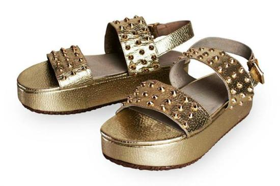 Como el dorado es todo este verano, Olivetta's propone sus Shupan gold.