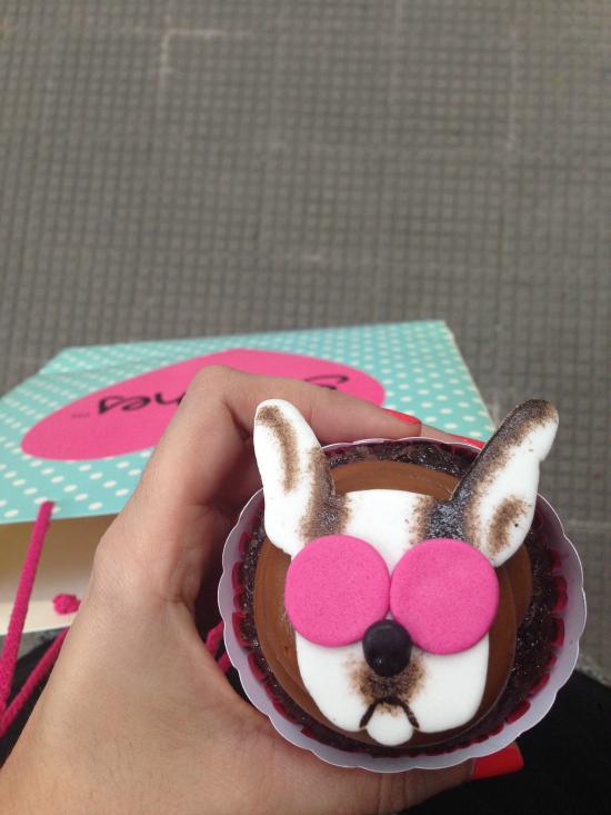 Amé mi cupcake, todo muy bello alrededor de Simones.