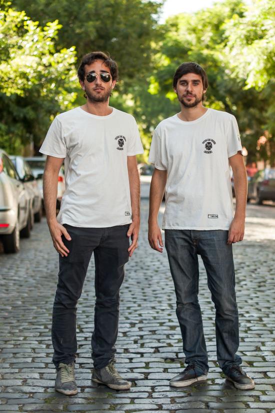 Los fundadores de Plored Maximiliano DH e Ignacio Lopez