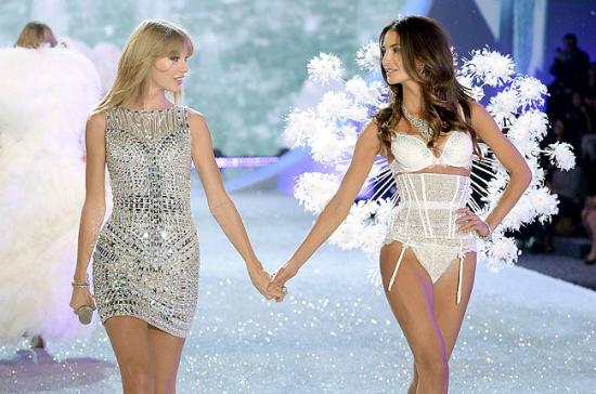 Taylor Swift y Lily Aldrige son amigas desde hace muchos años.
