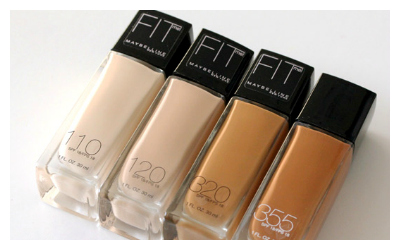 Fit Me Foundation en varios colores