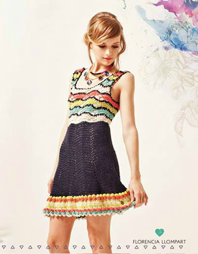 Divinor total el vestido Zoe de Florencia Llompart.