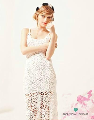 Super playero, el vestido Coraline en blanco es un fuego.