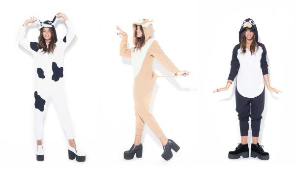 Los pijamas de animales son un BOOM, definitivamente el bonus track de 47 Street esta temporada.