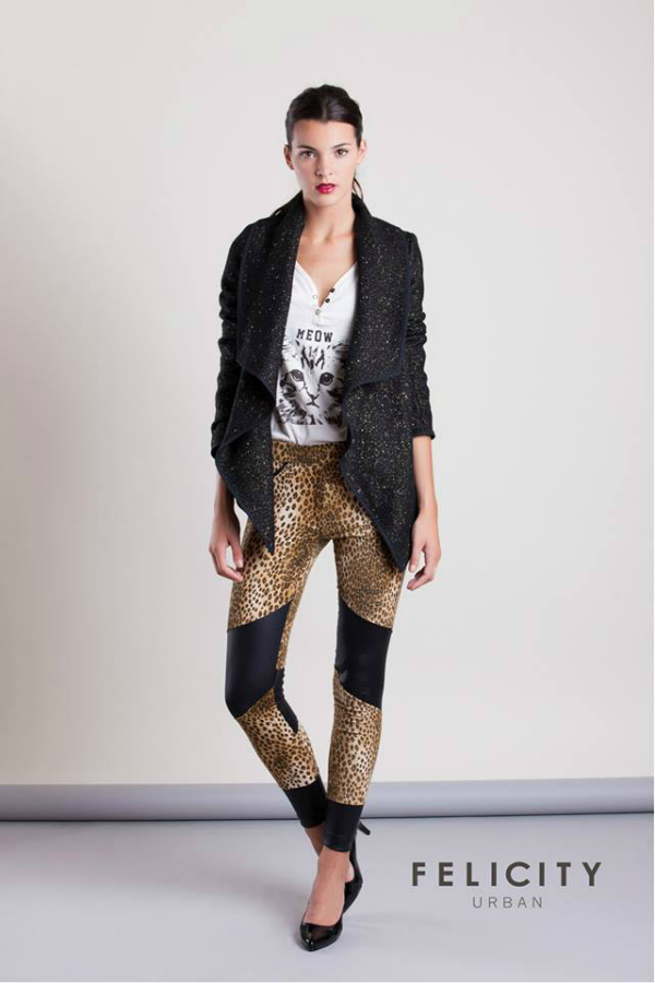 Estas combinadas con animal print son otro must. Son de Felicity Urban.