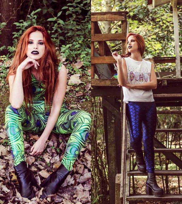 Si te animás a todo y querés un estampado espectacular, estos dos modelos de Jessica Biderman son para vos.