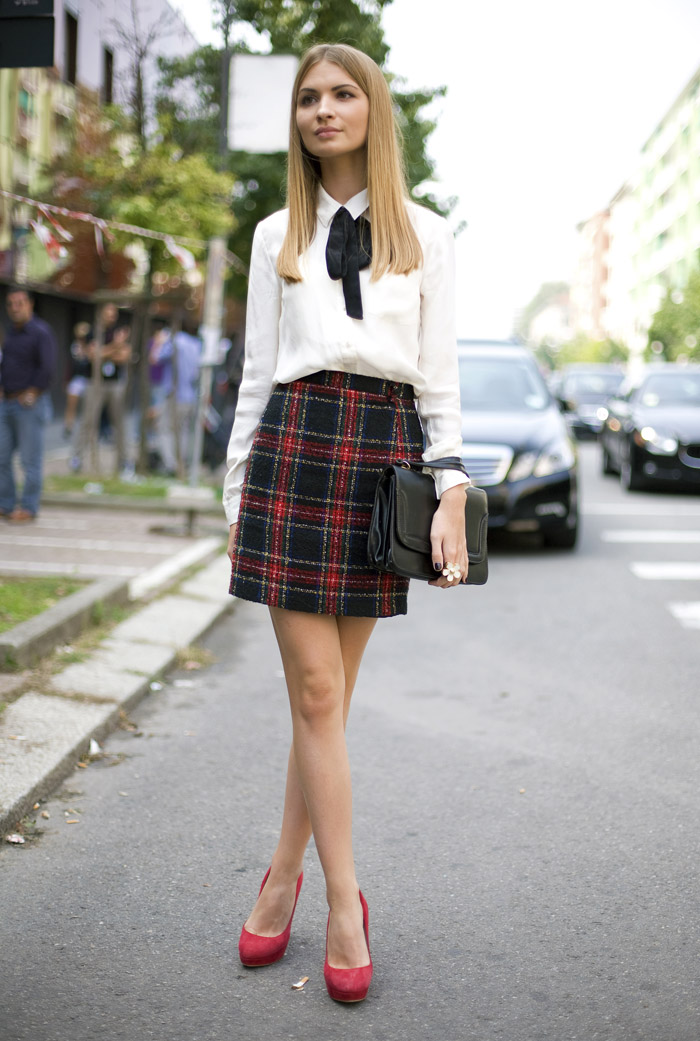 milan-plaid-skirt