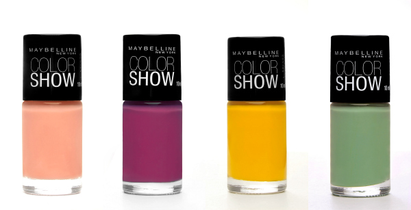 Esmaltes Color Show by Maybelline
