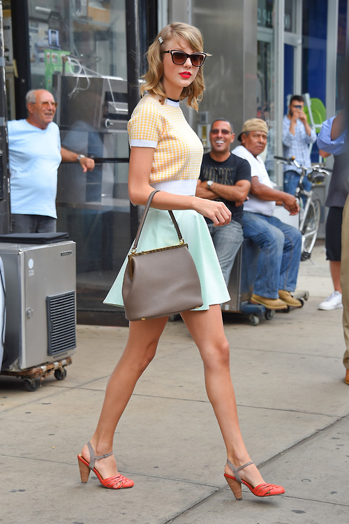 America's sweetheart Taylor Swift looks flawless after the Gym