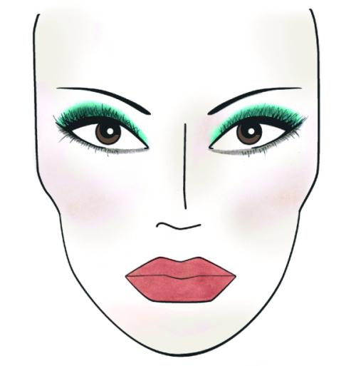 La máscara para la persona y el cuello de badyagi