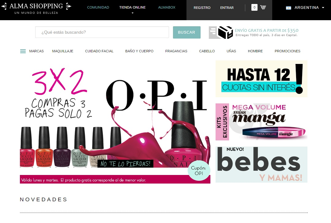 En la web, podés encontrar una gran variedad de productos, incluso aquellos que están faltando en el país por el tema de las importaciones.