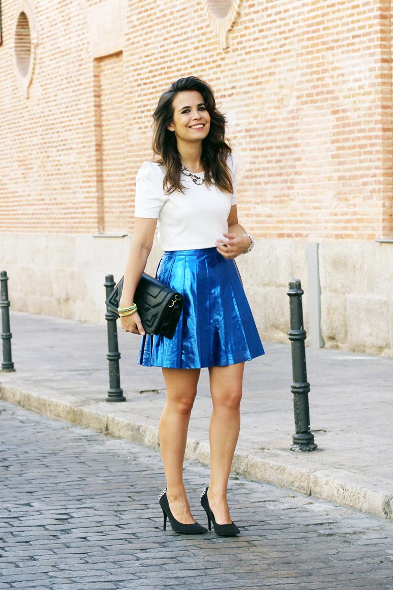 Mettalic Style Fashion Diaries Blog De Moda