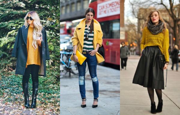 El amarillo vale en todos sus estilos, pero el mejor es el opaco, un estilo de mostaza. Divino.