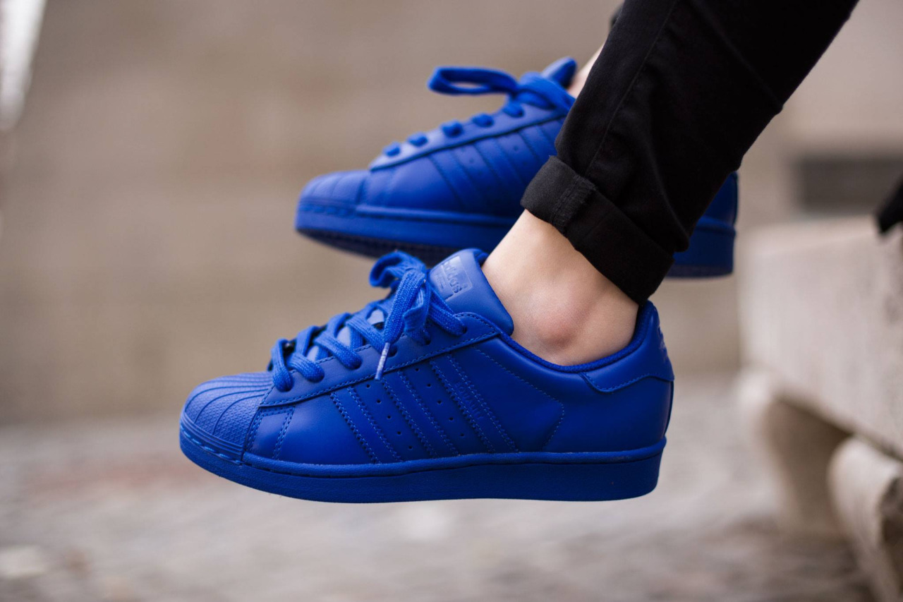 Zapatillas Superstar Azules