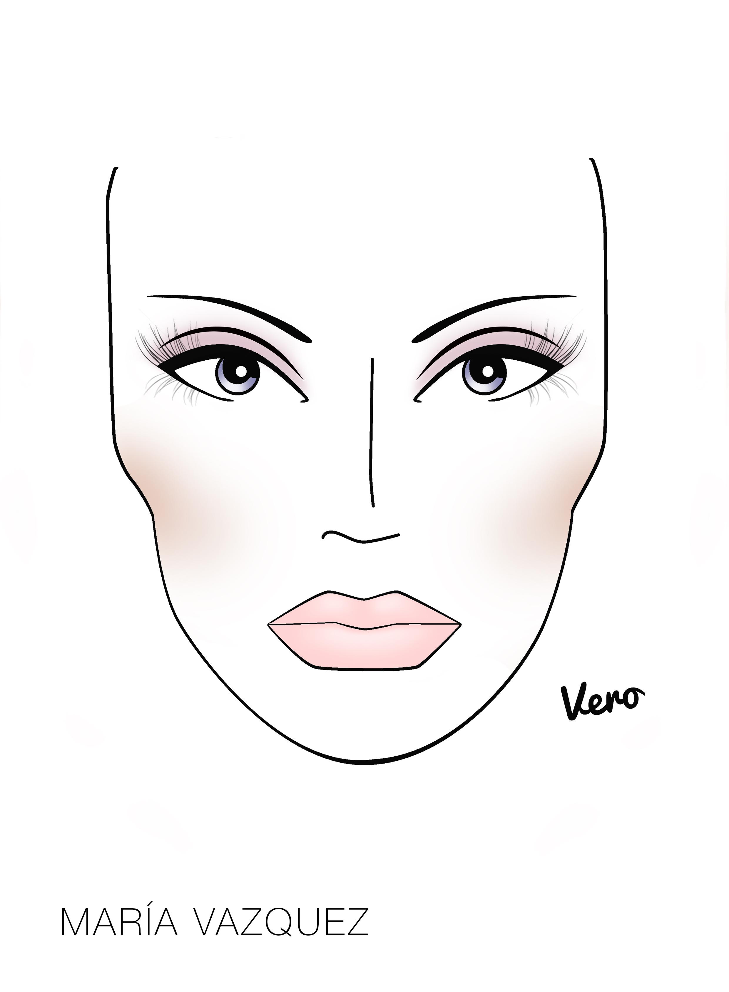 Para satinar los pómulos haciéndolos lucir brillantes se utilizó el iluminador en barra y para los labios un toque de labial efecto gloss rosa 81.