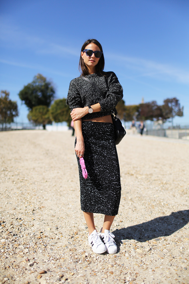 paris-fashion-week-proenza-schouler-sweater-proenza-schouler-skirt-adidas-sneakers