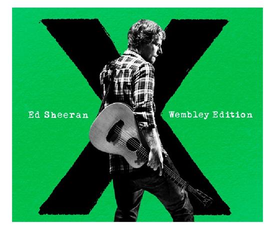 """X Wembley Edition es una reedición del multipremiado """"X"""" pero que trae un CD con 5 temas nuevos y un DVD donde podés ver la gira de Ed Shreean del lado de adentro."""