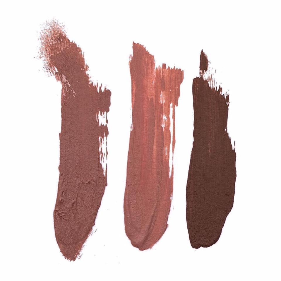 Aquí están, estos son, los tonos de Lip Kit By Kylie