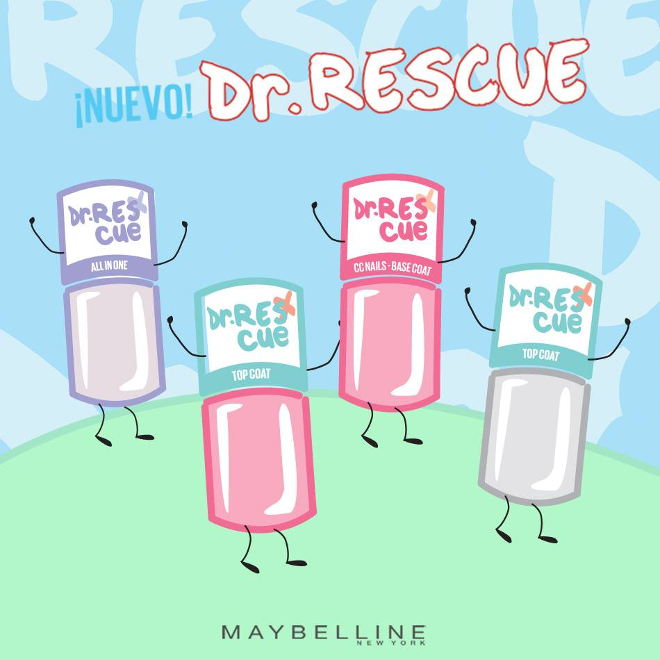 Dr. Rescue: Lo nuevo de Maybelline para proteger las uñas – Fashion ...