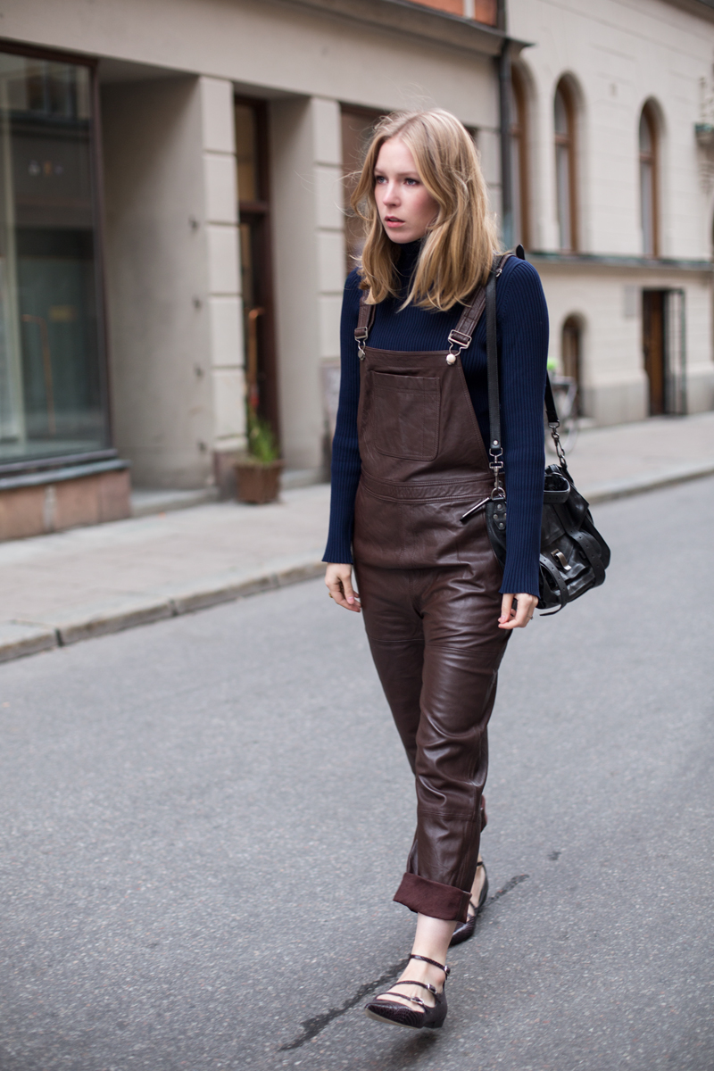 ganni-leather-dungarees