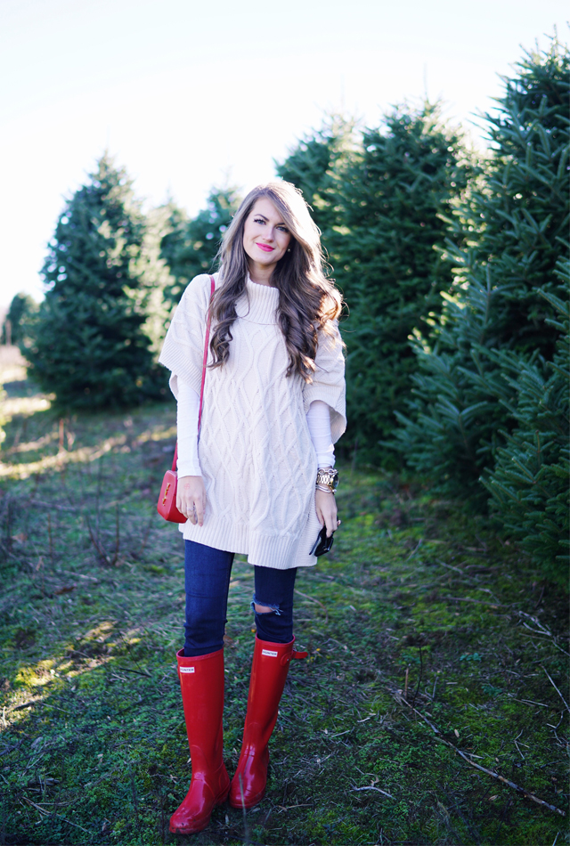 Christmas tree farm outfit