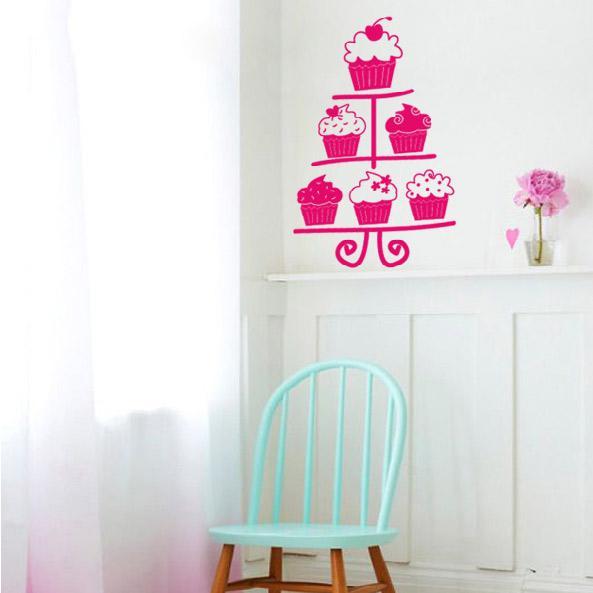 Así de predecible soy. MUERO por este vinilo de Cupcakes que encontré en Avenida.com. Es una linda opción para la cocina, aunque sin dudar también la pondría en el cuarto jajaa. CLIC ACÁ PARA VER EL PRODUCTO.